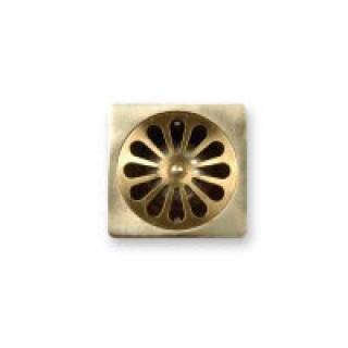 Messing plug vierkant (klassiek)